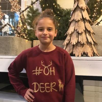 Meisjes kerstsweater #OH DEER