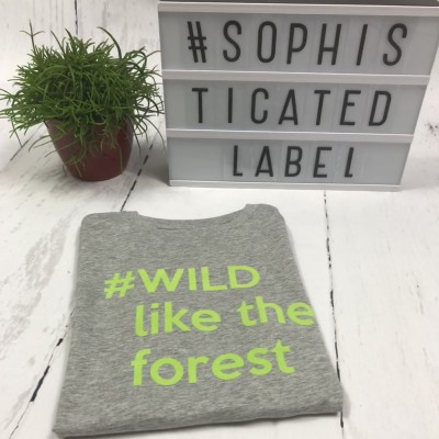 Jongens T-shirt #WILD like the forest