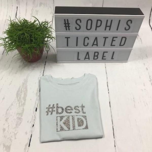 Meisjes T-shirt ronde hals #best KID