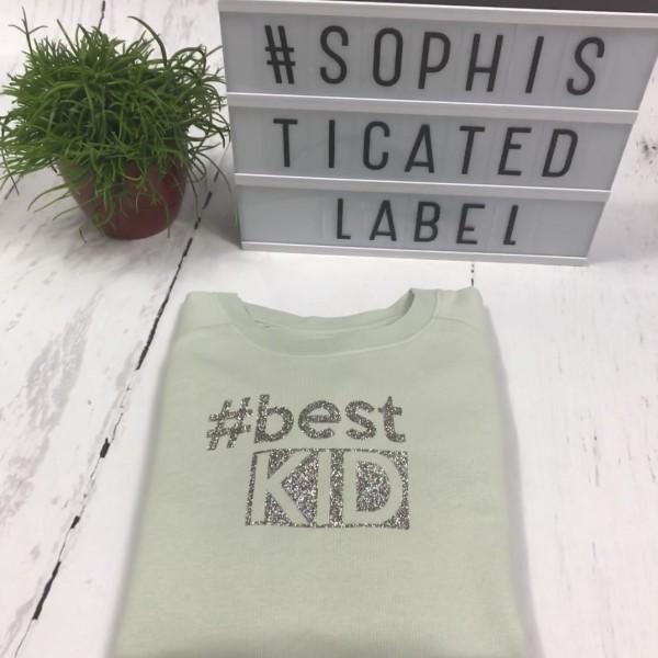 Meisjes Sweater #best KID
